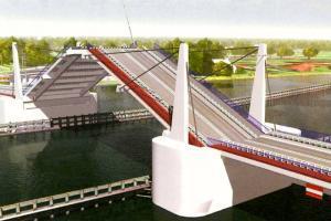 DW501: Budowa mostu zwodzonego na Wyspie Sobieszewskiej wystartowała