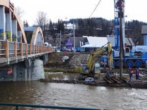 Zakopianka: W grudniu pojedziemy nowym mostem w Białym Dunajcu