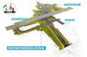Łódź: Są pieniądze na budowę drugiego odcinka Nowowęglowej