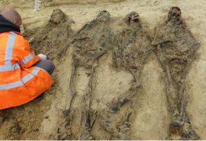 Groby wojenne wstrzymują budowę drogi S8 Poręba – Ostrów Mazowiecka