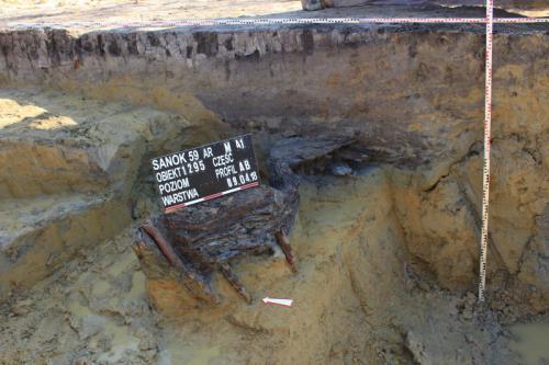 Studnia z czasów rzymskich na obwodnicy Sanoka