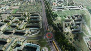 Trasa Niepodległości w Białymstoku jako zachodnia obwodnica miasta