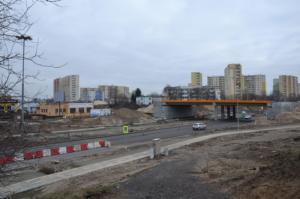 Ostatnie etapy na budowie Trasy Uniwersyteckiej w Bydgoszczy