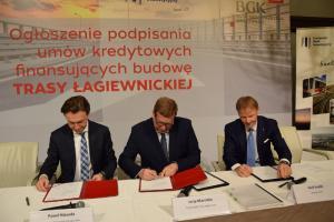 Trasa Łagiewnicka w Krakowie przypieczętowana