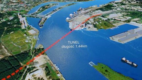 Ponad 618 mln zł to najniższa oferta na budowę tunelu w Świnoujściu