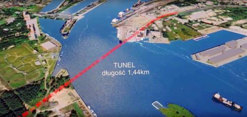 Pewne pieniądze na tunel między wyspami w Świnoujściu