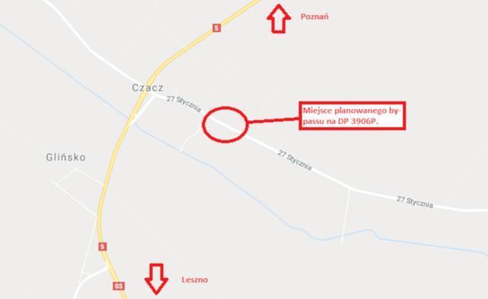 Utrudnienia w związku z budową drogi ekspresowej S5 Radomicko - Kościan