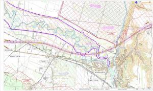 Mapy przebiegu drogi ekspresowej S11 - obwodnica Piły i Ujścia
