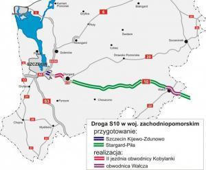 Znamy oferty dla S10 Szczecin - Piła