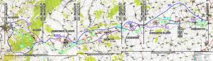 Mapa przebiegu DK8/S8 Wrocław - Kłodzko - budowa w podziale na zadania