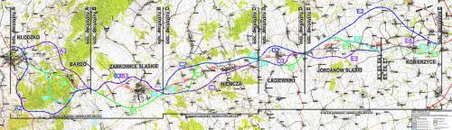 Mapa Przebiegu Dk8 S8 Wroclaw Klodzko Budowa W Podziale Na