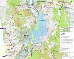 Zachodnia Obwodnica Szczecina - mapa przebiegu drogi ekspresowej S6