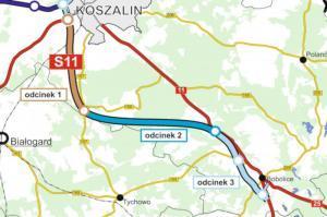 GDDKIA szuka wykonawców S11 Koszalin - Bobolice