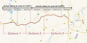 50 km drogi ekspresowej S5 w woj. dolnośląskim oddane kierowcom - mapa