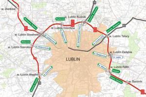 Obwodnica Lublina. Drogowy ring ekspresówek S19, S17 i S12