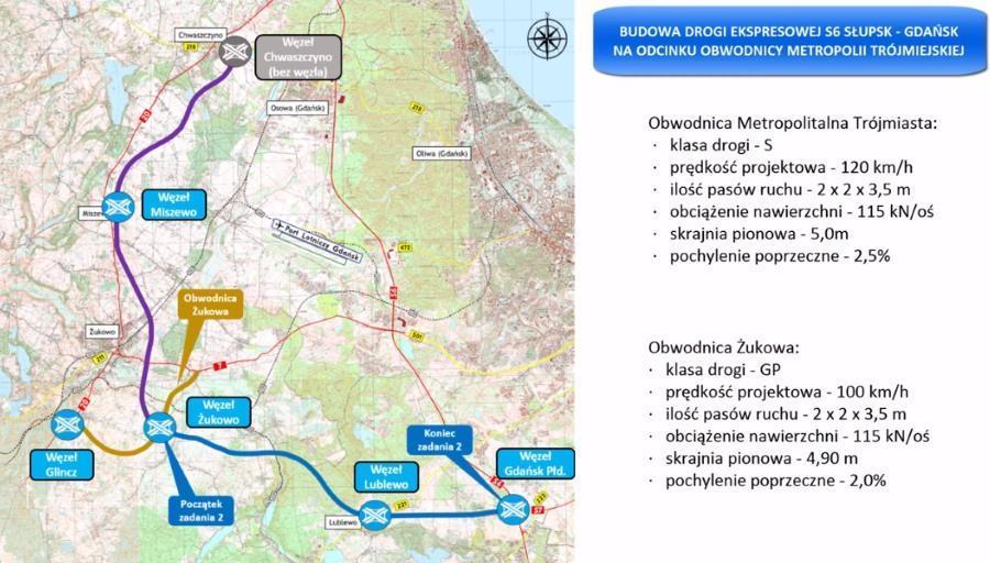 Realizacja obwodnicy Metropolii Trójmiasta podzielona na 2 zadania