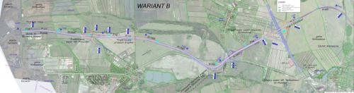 Obwodnica Przecławia i Warzymic. DK13 Szczecin - autostrada A6 - mapa przebiegu