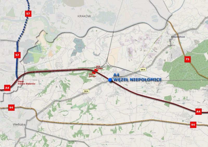 18 miesięcy na budowę nowego węzła na A4 koło Krakowa