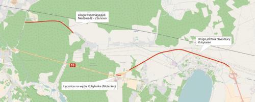 Obwodnica Kobylanki, Morzyczyna i Zieleniewa w ciągu drogi ekspresowej S10 - druga jezdnia