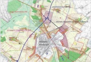 Wielkopolskie: Samorządy chcą obwodnicy Kościana biegnącej do S5