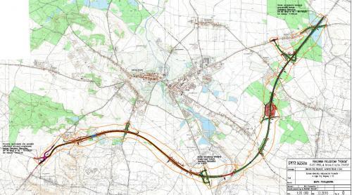 Obwodnica Niemodlina w ciągu DK46 - mapa przebiegu