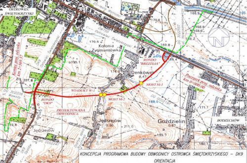 GDDKIA daje trzy lata na projekt i budowę obwodnicy Ostrowca Świętokrzyskiego