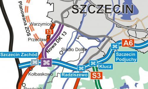 Umowa na nową drogę Szczecin – autostrada A6