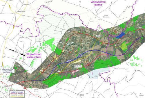 Mapa S11 Od Kepna Przez Kluczbork Do Olesna Warianty Przebiegu