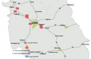 Droga ekspresowa S19 Kraśnik – granica województwa. Mapa odcinków do realizacji