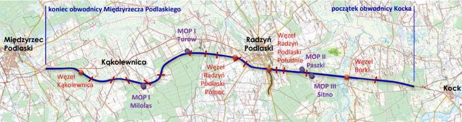 Droga ekspresowa S19 Międzyrzecz Podlaski - Radzyń - Kock
