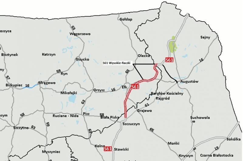 Via Baltica: Odcinek S61 Wysokie - Raczki zrealizuje Budimex