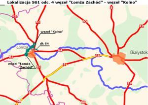 Budowa S61: Włosi zbudują odcinek obwodnicy Łomży z mostem przez Narew