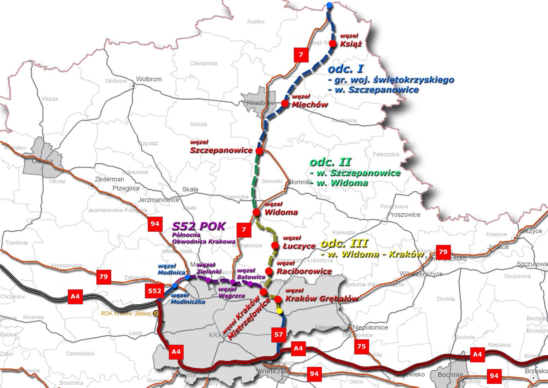 Salini z umową na drogę S7 Kraków - Widoma