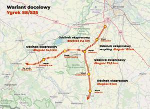 Sudecki Ygrek – Dolnośląskie chce budowy dróg ekspresowych S8 i S5/S35