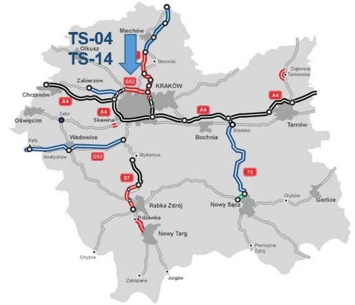 Tunele w ciągu Północnej Obwodnicy Krakowa