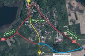 Kilometrowa obwodnica Węgorzyna uwolni miasto od tranzytu