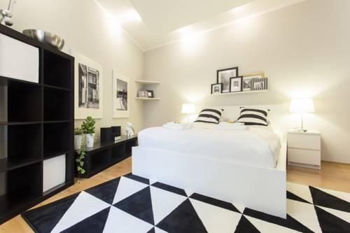Black&White Apartment - Kraków
