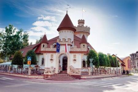 Zamek Pod Brzozami - Krynica-Zdrój
