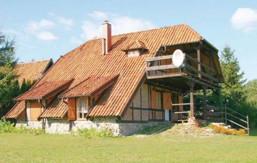 Holiday home Lidzbark Warminski Haus Am See Klebowo - Lidzbark Warmiński