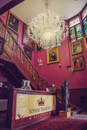 łódzki Pałacyk - Pokoje pałacowe - Łódź