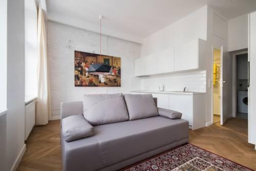 Apartament przy Woonerfie - Łódź