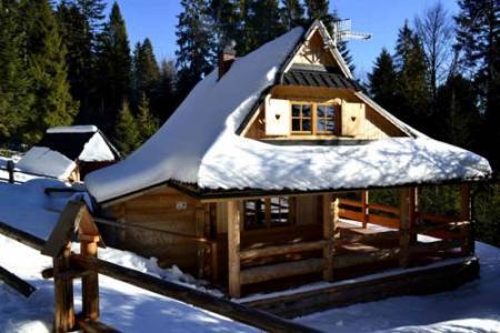Domek drewniany w górach - Nowy Targ