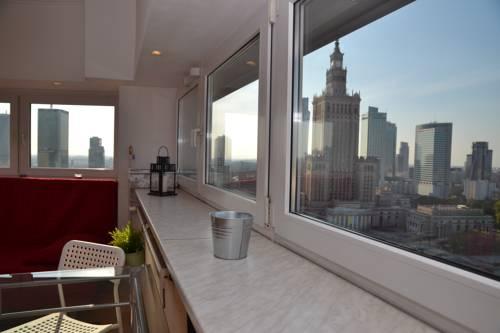 23 floor Warsaw View Apartment - Warszawa
