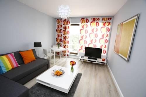 Orange Apartment - Wrocław