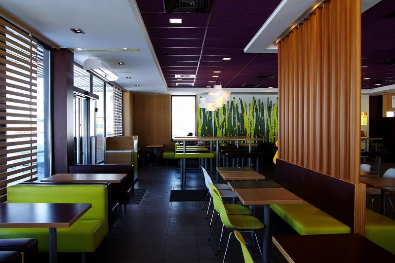 McDonalds Juzefów droga ekspresowa S7 MOP