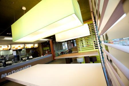 McDonalds Kurów MOP na drodze ekspresowej S12 - kierunek Lublin