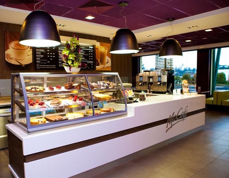 McDonalds Kurów MOP na drodze ekspresowej S12 - kierunek Warszawa