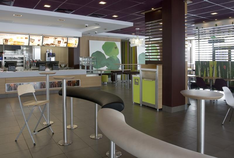 McDonalds Warszawa al. Łopuszańska 2