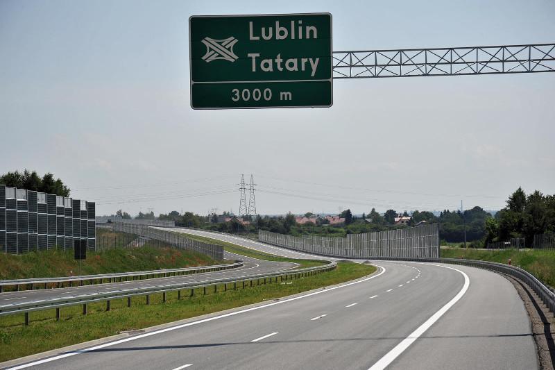 Obwodnica Lublina -droga ekspresowa S17, wezeł Lublin Tatary
