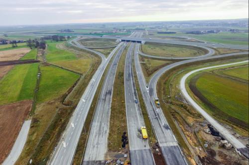 Postęp prac na budowie obwodnicy Kępna w ciągu drogi S11
